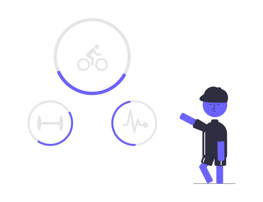 エアロバイク・フィットネスバイクは部屋で簡単に出来る